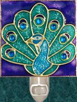 purple peafowl