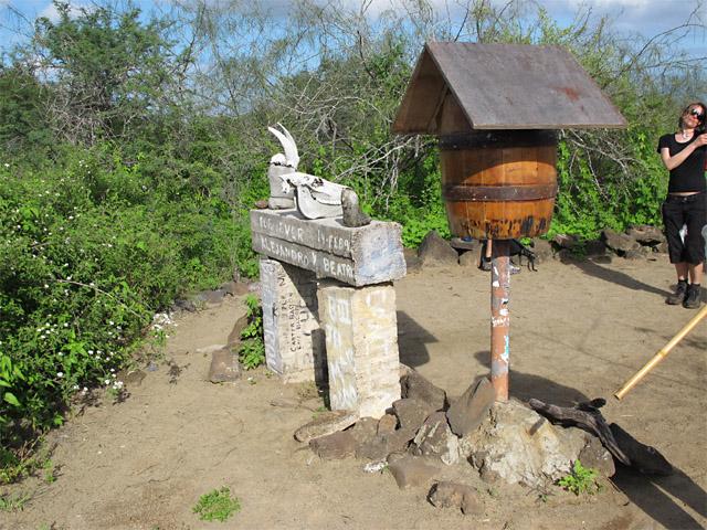 Floreana Island, Galapagos mail barrel