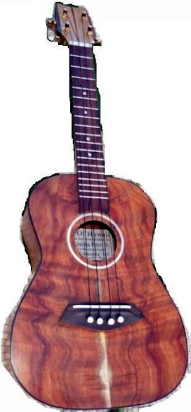 Garrett Kealoha Peters Sr. Sound of Hawaii Tenor Ukulele