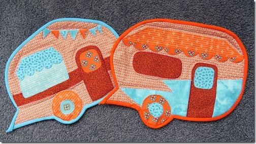 Rochelles Caravan place mats