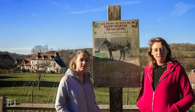 L'histoire de l'ancien lieu des courses de chevaux de St Martin de la Lieue