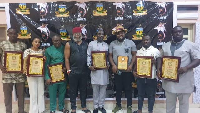 Obiano's Aide, Journalists, Actors, Others Recieve AMEA Award ~Omonaijablog