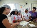 Estudantes fizeram pratos típicos das regiões do Brasil
