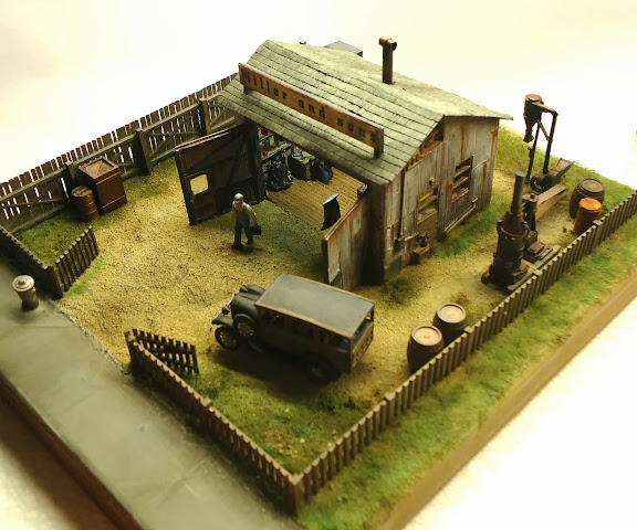 Railroad Line Forums: Miller And Sons, A HO Scale Diorama