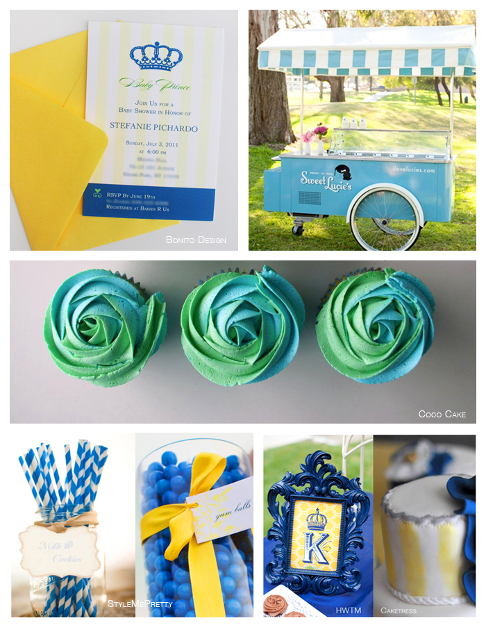 Green, Blue and Yellow Inspiration