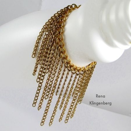 Roaring 20's Chain Jewelry Projects by Rena Klingenberg