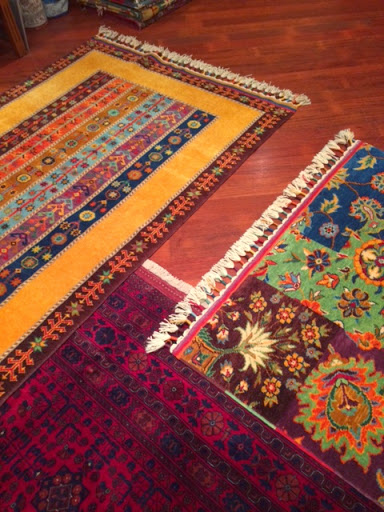 Istanbul carpets.