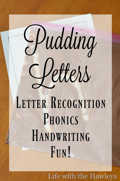 Pudding Letters- Life with the Hawleys