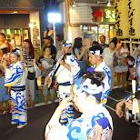 awa odori matsuri in nakameguro in Meguro, Tokyo, Japan