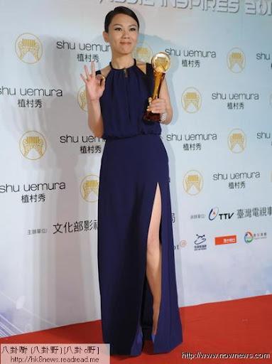 最佳國語女歌手蔡健雅。(記者邱榮吉、林調遜/攝影)