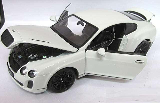 Mô hình Bentley Continental SuperSports Coupe tỷ lệ 1:18