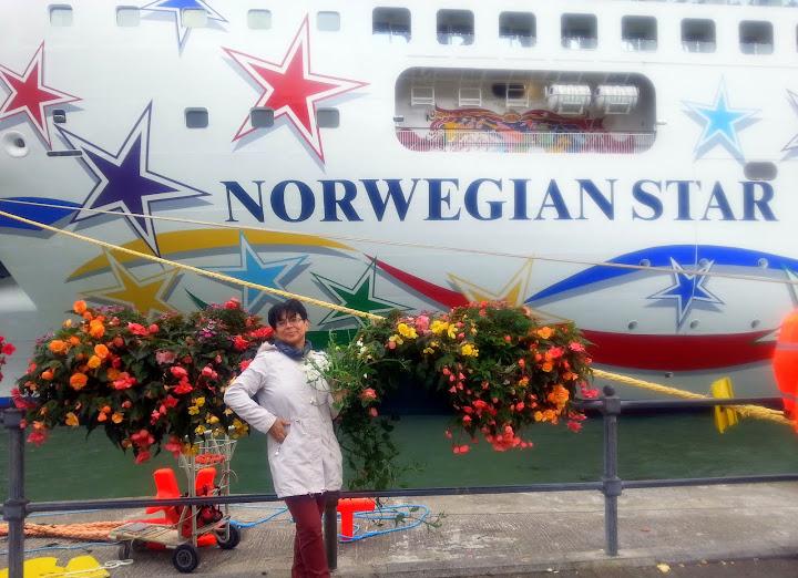 Дадим фристайлом вокруг Британии! Norwegian Star в сентябрьском круизе