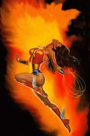 Mulher Maravilha 02, Warrior Girls 1