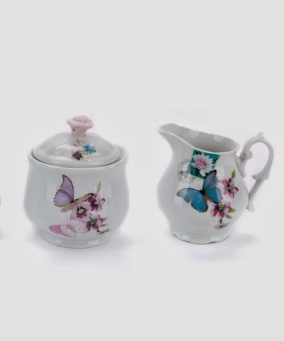 Monsoon Accessorize milk jug and sugar pot