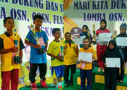 Olimpiade Pelajar Cabang Olahraga Catur dan Pencak Silat Kabupaten Sukabumi