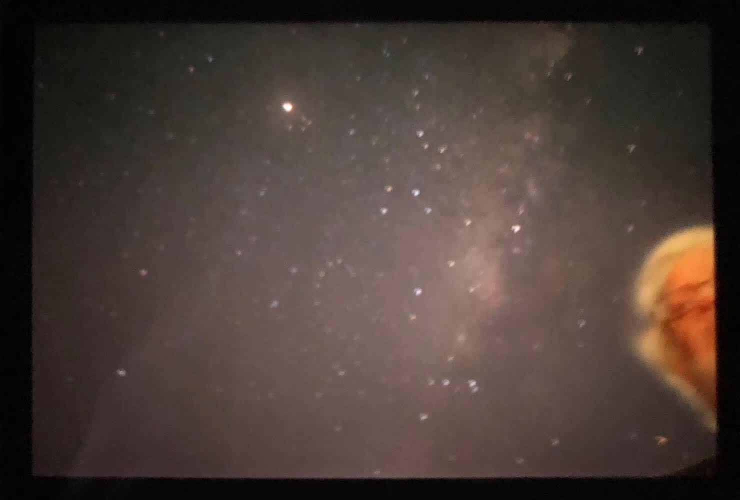 120 second exposure of Milky Way from cruise ship (Source: Palmia Observatory)