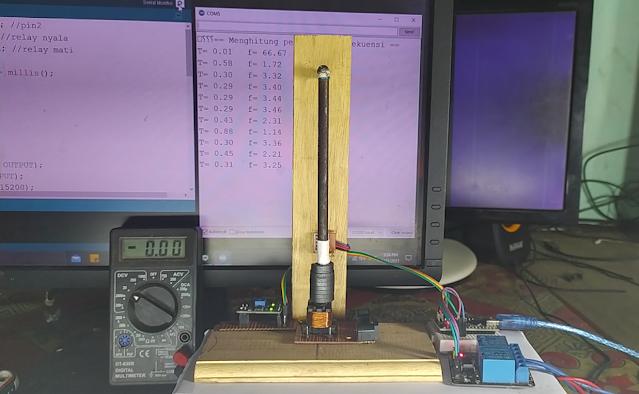 Pendulum electromagnetic arduino