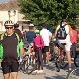 Día de la bici 2012: senda de las encinas