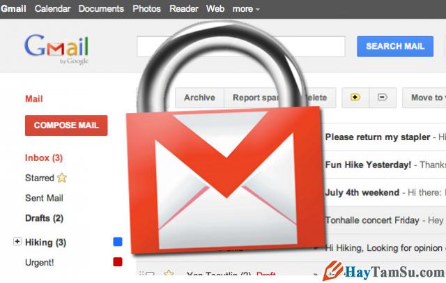 Cách cài đặt xác minh 2 bước chống hack Gmail
