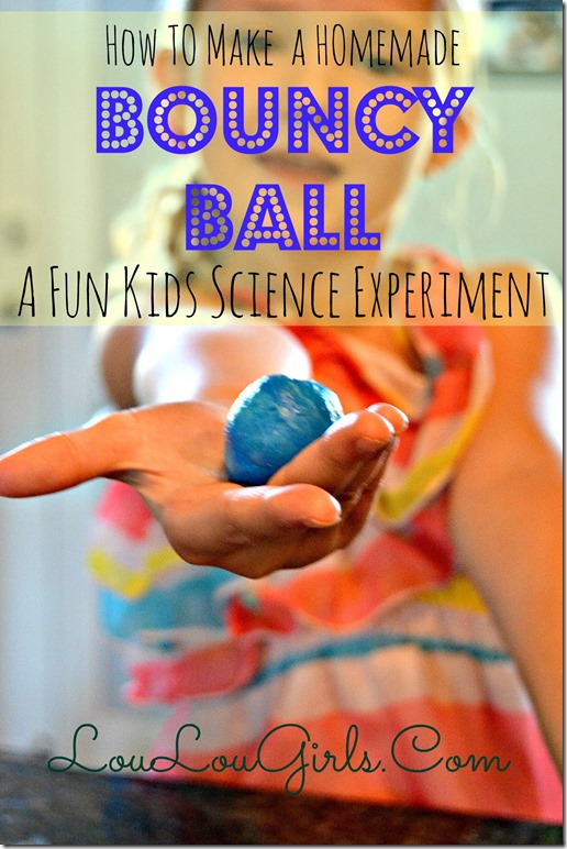 Bouncy Ball Science Experiment