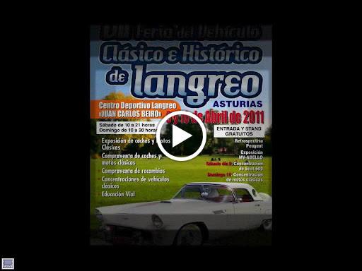 VII FERIA DEL VEHÍCULO CLÁSICO E HISTÓRICO  LANGREO  ABRIL 2011
