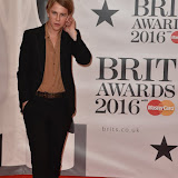 OIC - ENTSIMAGES.COM - Tom Odell at the  The BRIT Awards 2016 (BRITs) in London 24th February 2016.  Raymond Weil's  Official Watch and  Timing Partner for the BRIT Awards. Photo Mobis Photos/OIC 0203 174 1069