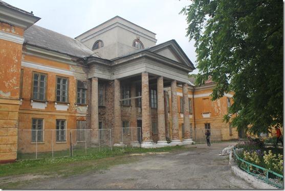 Великі Межирічі палац