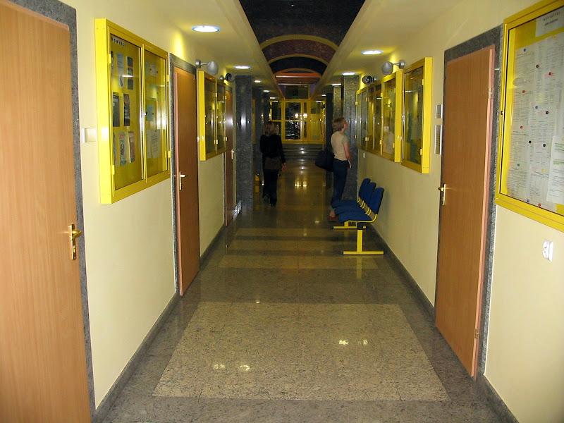 Hol w budynku Rektoratu