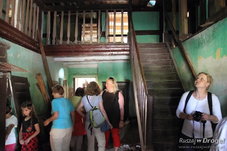 Remontowany dom podcieniowy w Nowej Kościelnicy