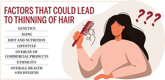 كيف أجعل شعري أكثر كثافة؟