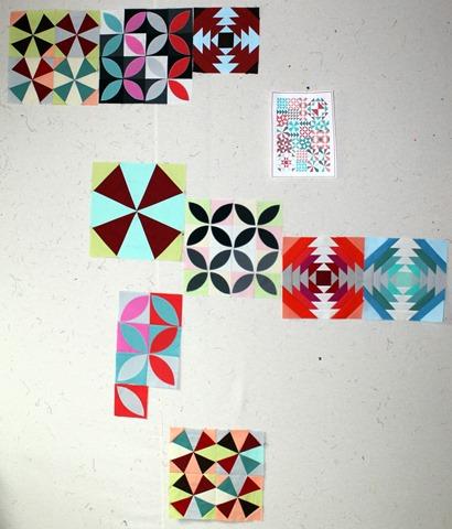 bella skill builder sampler quilt blocks