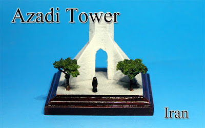 Azadi Tower ‐Iran‐