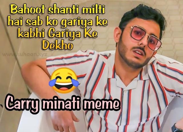Carry minati, meme, photo meme