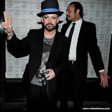 WWW.ENTSIMAGES.COM - Boy George    at      Eleven Paris - store launch party Boy George, DJs as cult French fashion label hosts party to celebrate the opening of its debut London store, in the year of its 10th anniversary at Eleven Paris, 46 Carnaby Street, London, April 25th 2013                                                    Photo Mobis Photos/OIC 0203 174 1069