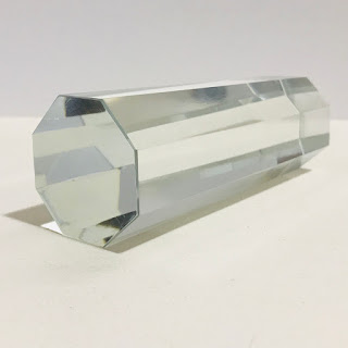 Tiffany & Co. Faceted Crystal Paperweight