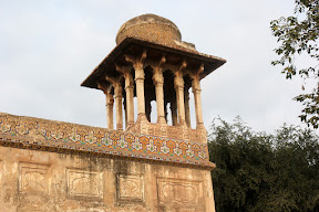 One of the minaret of the tomb