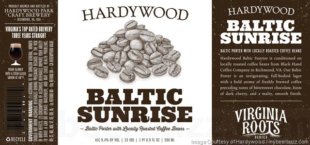 Hardywood Virginia Roots Series - Baltic Sunrise