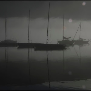 Brume sur le Lac Bleu