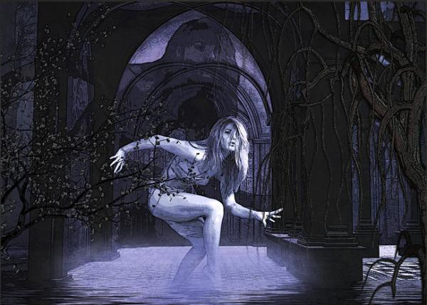 The Ghost Dancer, Ghosts