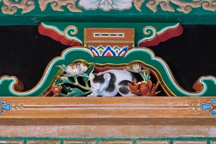 眠り猫は驚くほど小さい! 日光東照宮 眠り猫