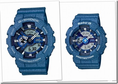 Casio G-SHOCK Baby-G Denim' D Color 03