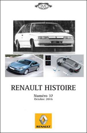 Renault Histoire N°37 - Octobre 2016