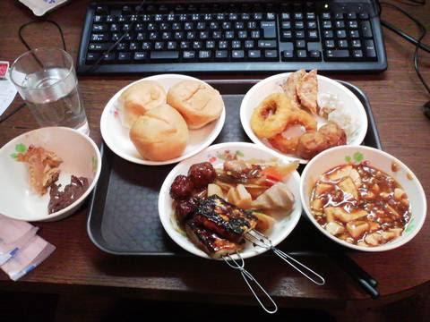 BBQ食べ放題90分¥500 まんが喫茶ビッグ2回目