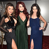 OIC - ENTSIMAGES.COM - Abi Clarke, Jessica Hayes and Shelby Billingham at the  Britz go Bollywood - Ark Royal Banquet Hall  in London 29th February 2016 Photo Mobis Photos/OIC 0203 174 1069