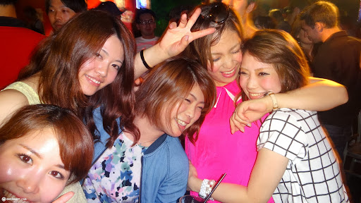 Party Japanese Teen Gets