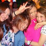 Japanese girls at New Lex in Tokyo, Tokyo, Japan