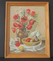 thumbnail of flower and fruit paint by number oil painting