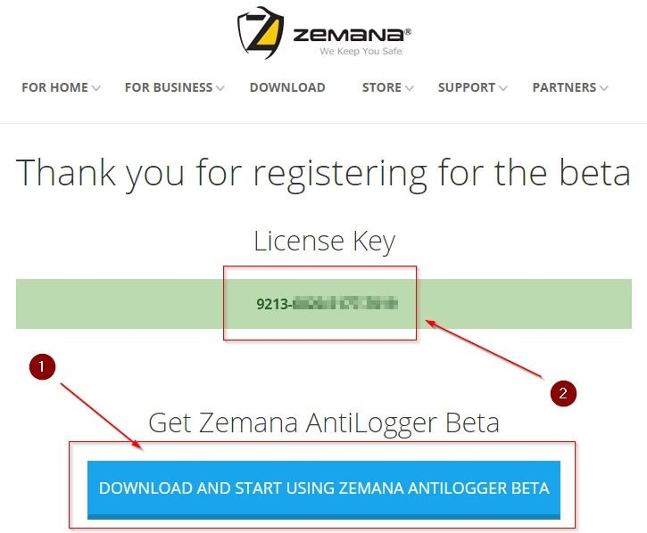 zemana antikeylogger pro license key
