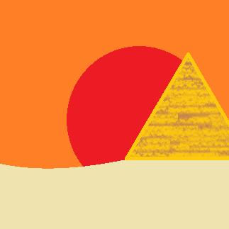 Egypt imhotep's icon