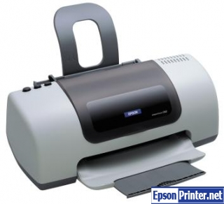 How to reset Epson C63 printer